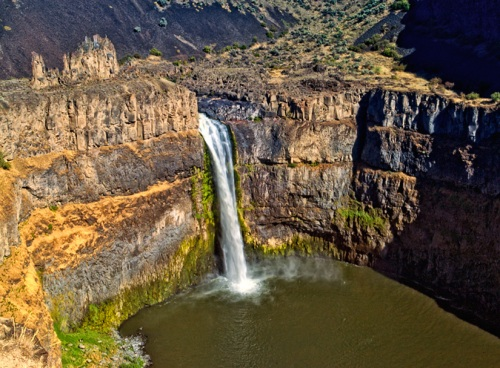 Palouse Falls 1 by Gary Hamburgh - All Rights Reserved