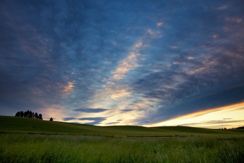 Morning Sky in the Palouse by Gary Hamburgh - All Rights Reserved